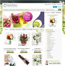 çiçekci e-ticaret sitesi