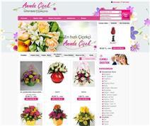 çiçekciler için e-ticaret sitesi